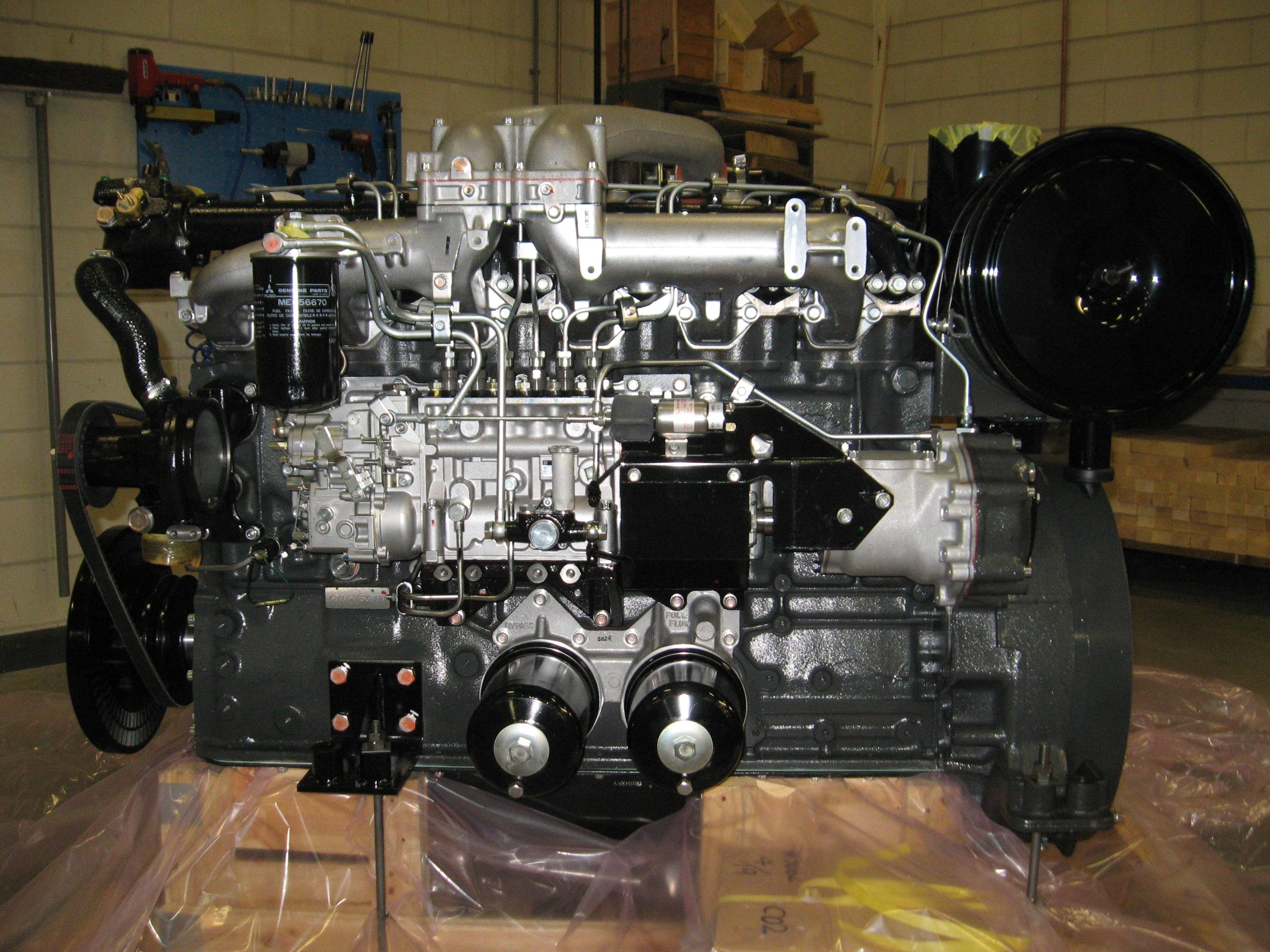Mitsubishi 6D24-TC, Fuso engine   DET Mitsubishi