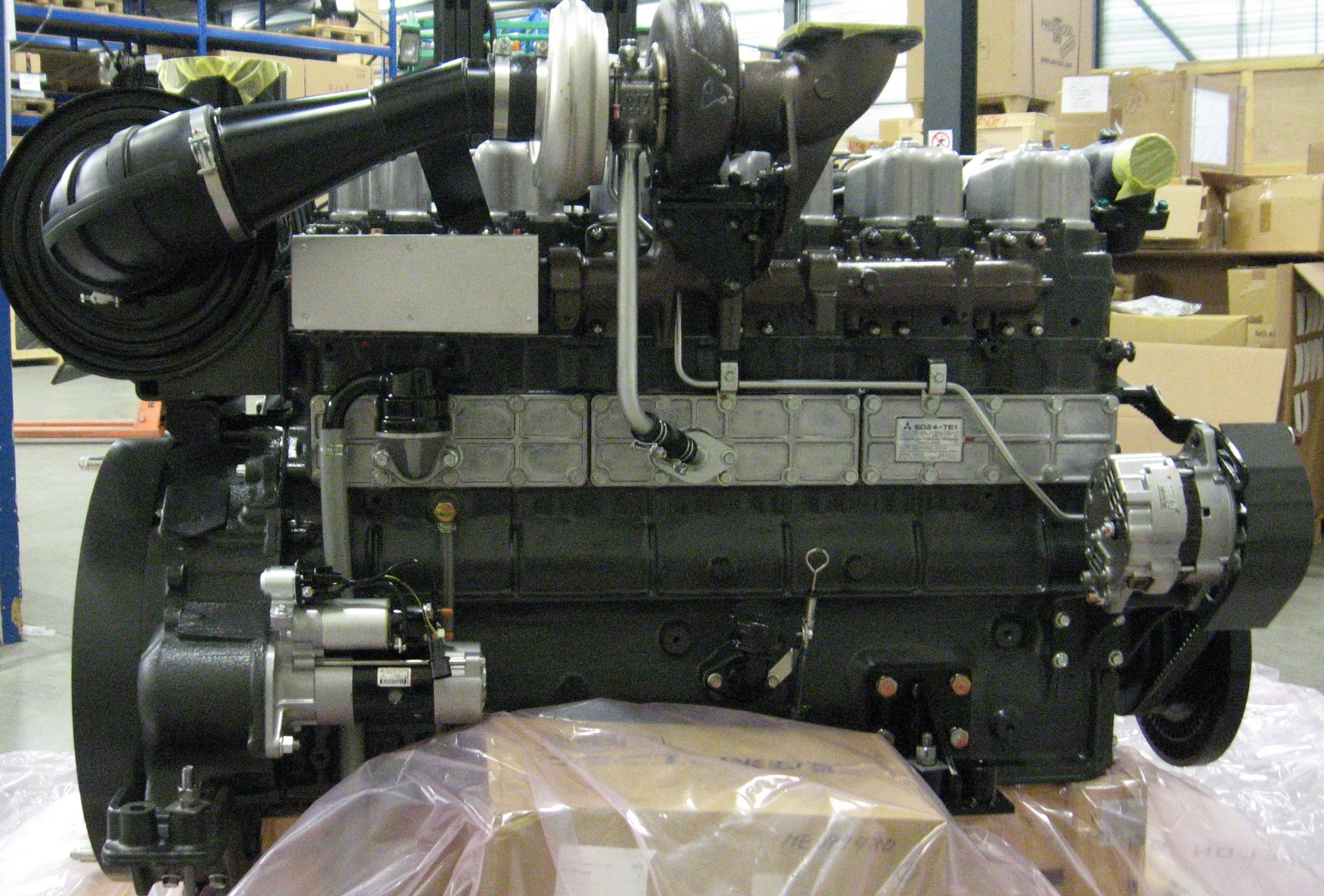 Mitsubishi 6D24-T - Fuso engine