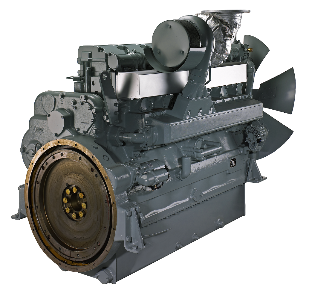 Mitsubishi S6R-PTA is a very powerful and reliable diesel engine, used in  industrial and marine applications. Depending on the type, the output is  around ...